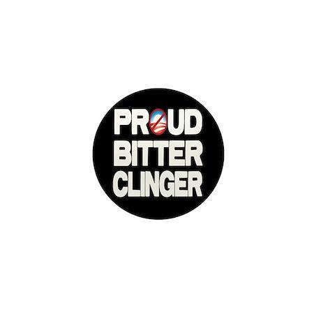 Proud Bitter Clinger Mini Button (10 pack)