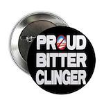 """Proud Bitter Clinger 2.25"""" Button (10 pack)"""