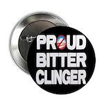 """Proud Bitter Clinger 2.25"""" Button"""