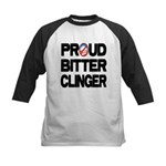 Proud Bitter Clinger Kids Baseball Jersey