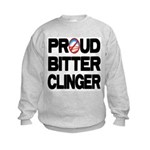 Proud Bitter Clinger Kids Sweatshirt