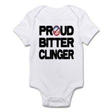 Proud Bitter Clinger Infant Bodysuit
