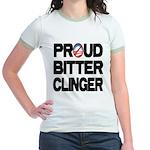 Proud Bitter Clinger Jr. Ringer T-Shirt