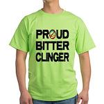 Proud Bitter Clinger Green T-Shirt