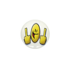 Smiley Fingers Mini Button (100 pack)