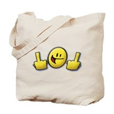 Smiley Fingers Tote Bag