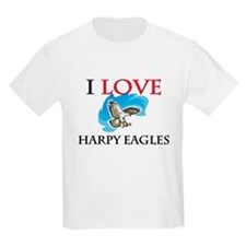 I Love Harpy Eagles T-Shirt