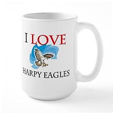 I Love Harpy Eagles Mug