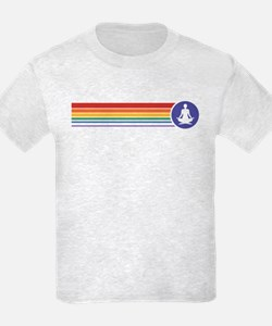 Retro Yoga Rainbow T-Shirt