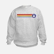 Retro Yoga Rainbow Sweatshirt