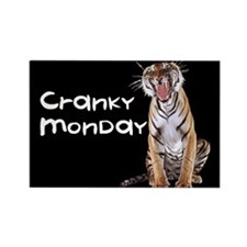 Cranky Monday Rectangle Magnet (10 pack)