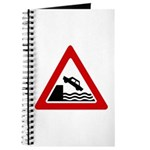 Cliff Warning sign - Journal