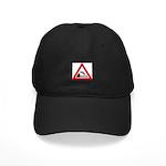 Cliff Warning sign - Black Cap