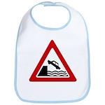 Cliff Warning sign - Bib