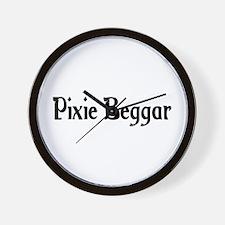 Pixie Beggar Wall Clock
