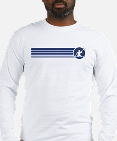 Retro Kayaking Long Sleeve T-Shirt