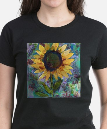 Sunflower Sunday Art T-Shirt