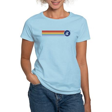 Retro Kayaking Women's Light T-Shirt