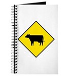 Cattle Crossing Sign - Journal