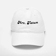 Mrs. Tatum Baseball Baseball Cap