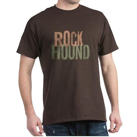 Rock Hound (Distressed) Dark T-Shirt
