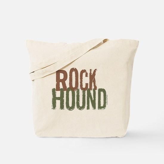 Rock Hound (Distressed) Tote Bag