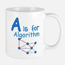 A is for Algorithm Mug
