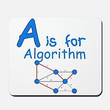 A is for Algorithm Mousepad
