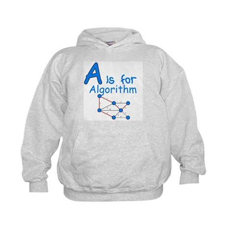 A is for Algorithm Kids Hoodie