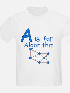 A is for Algorithm T-Shirt