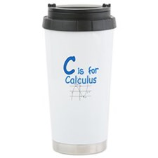 C is for Calculus Travel Mug