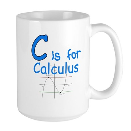 C is for Calculus Large Mug