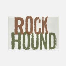 Rock Hound (Distressed) Rectangle Magnet (10 pack)