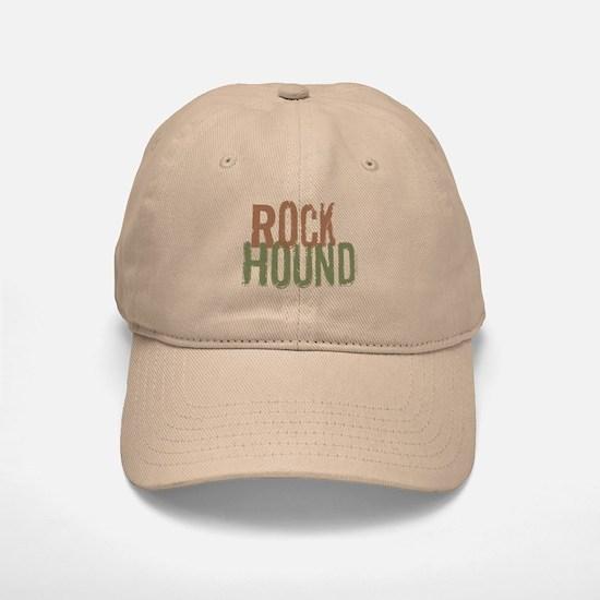 Rock Hound (Distressed) Baseball Baseball Cap