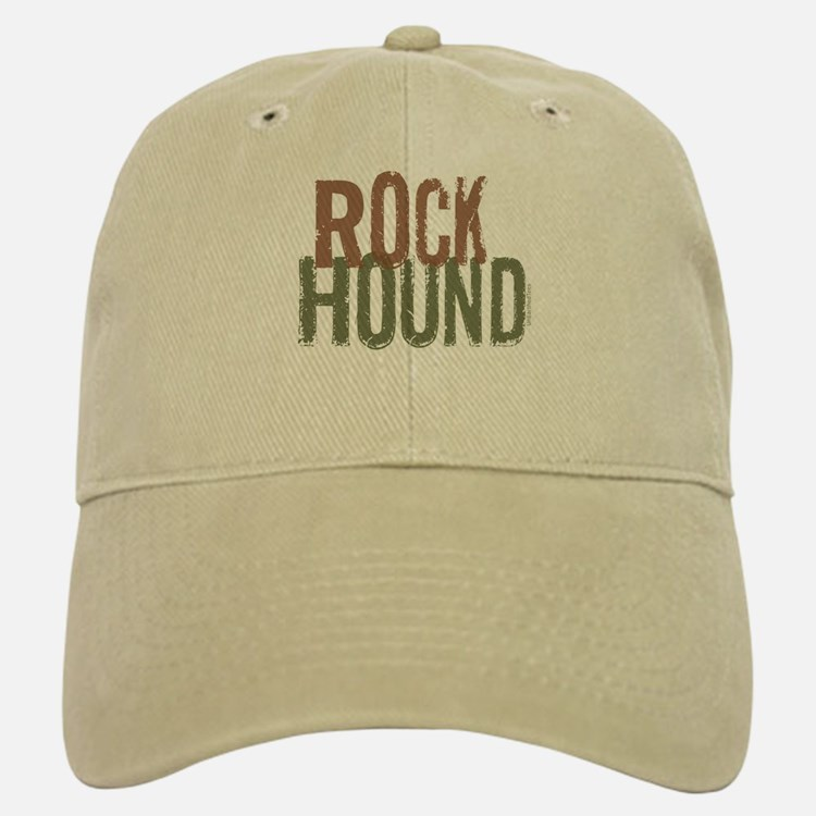 Rock Hound (Distressed) Baseball Baseball Cap
