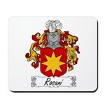 Rosani Family Crest Mousepad