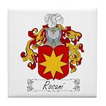 Rosani Family Crest Tile Coaster