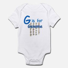 G is for Genome Infant Bodysuit