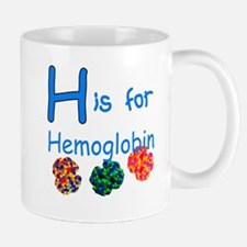 H is for Hemoglobin Mug
