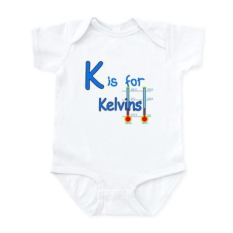 K is for Kelvins Infant Bodysuit