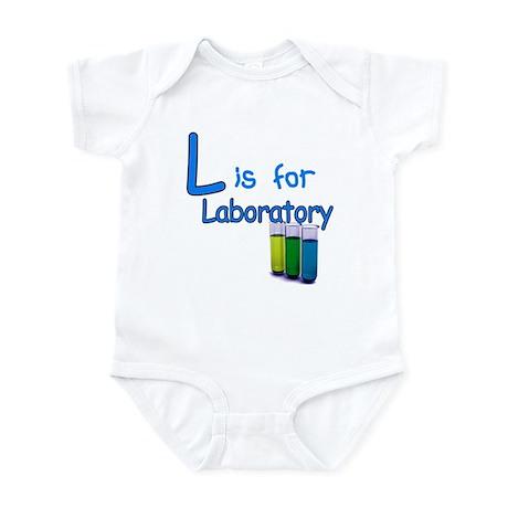 L is for Laboratory Infant Bodysuit