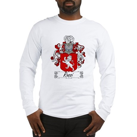 Rossi Family Crest Long Sleeve T-Shirt