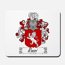 Rossi Family Crest Mousepad