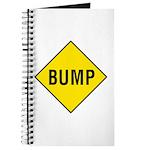 Yellow Bump Sign - Journal