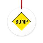 Yellow Bump Sign - Keepsake (Round)