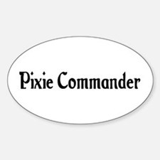 Pixie Commander Oval Decal