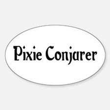 Pixie Conjurer Oval Decal