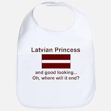 Gd Lkg Latvian Princess Bib
