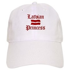 Latvian Princess Baseball Baseball Cap