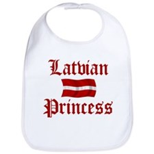 Latvian Princess Bib